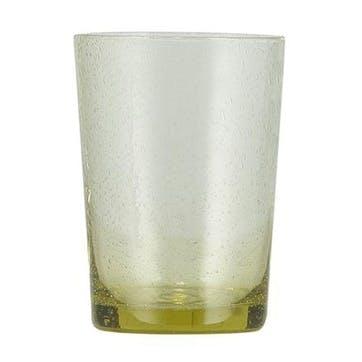 Tuscan Yellow Glass Tumblers, Set of 6