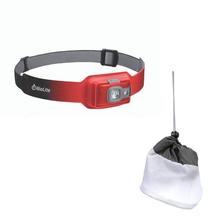 Headlamp 200 Diffuser Bundle, Ember Red