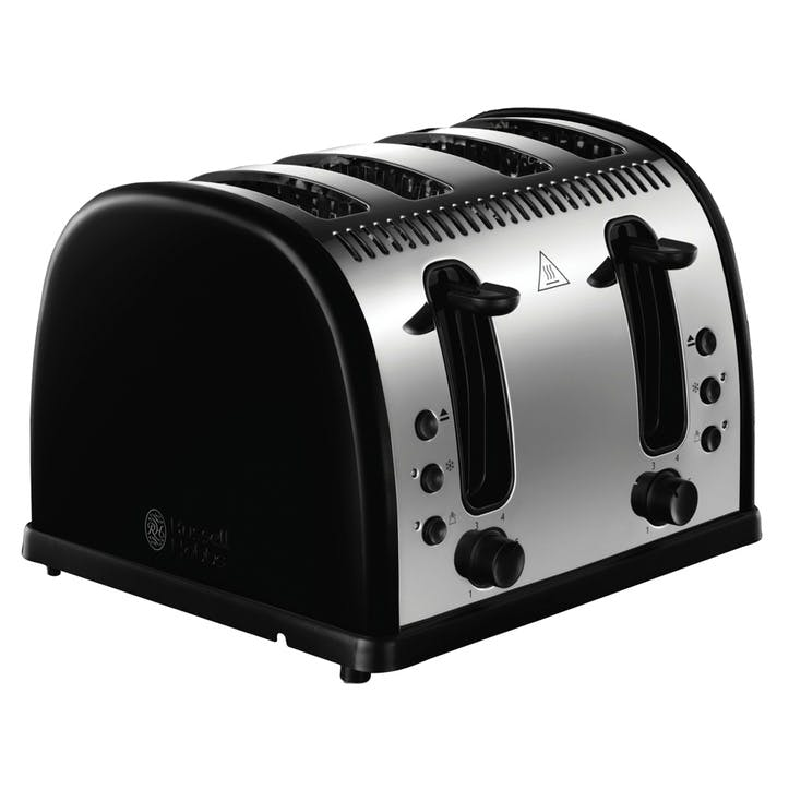 Legacy Toaster 4 Slot; Black