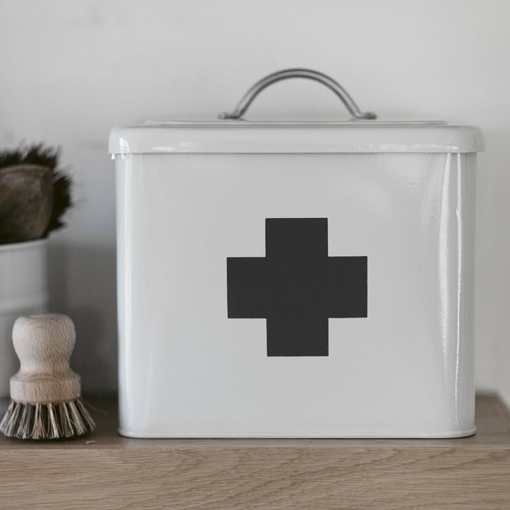 First Aid Box in Chalk