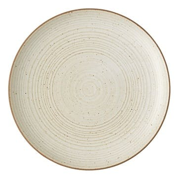 Nature, Side Plate, Dia22cm, Sand
