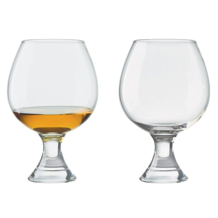 Manhattan Set of 2 Brandy Glasses