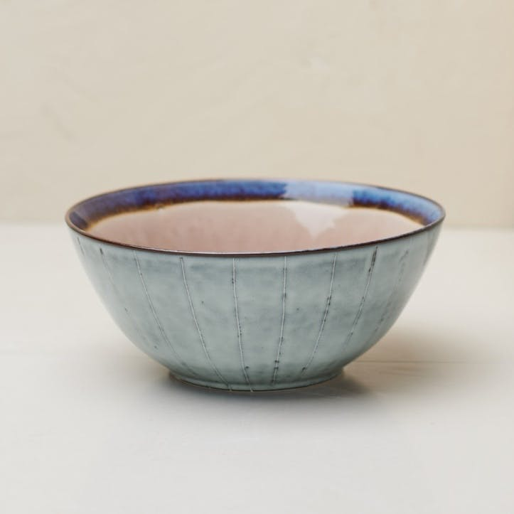 Dakara Serving Bowl; Dusky Pink
