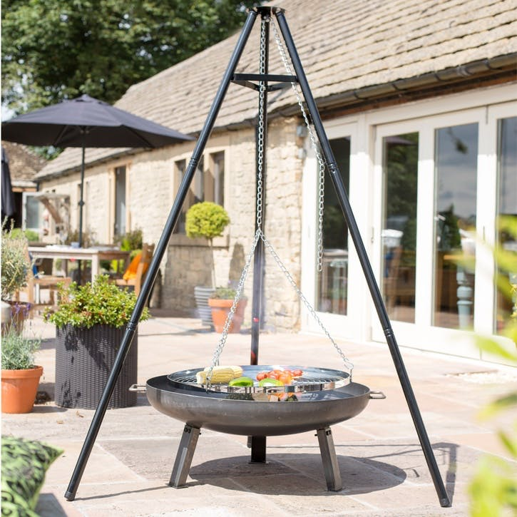 Tripod Hanging Cooking Grill