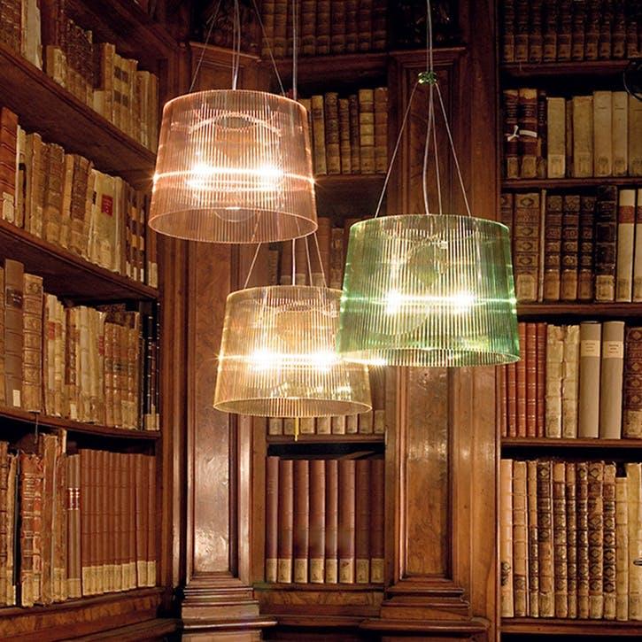 GE' Suspension, Ceiling Light, Green