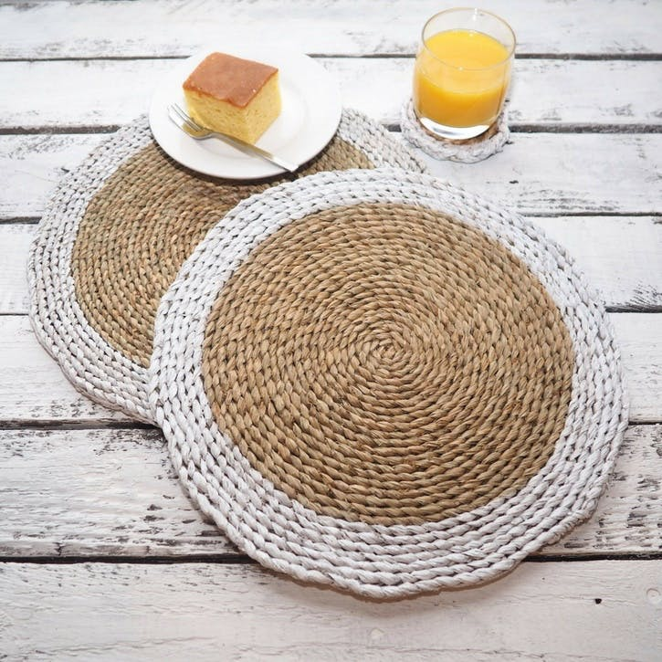 Wicker Placemats - Set of 4