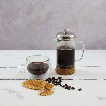 3 Cup Glass Cafetiere, 350ml
