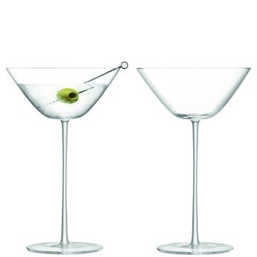Bar Culture, Cocktail Glass, Set of 2, 280ml, Clear