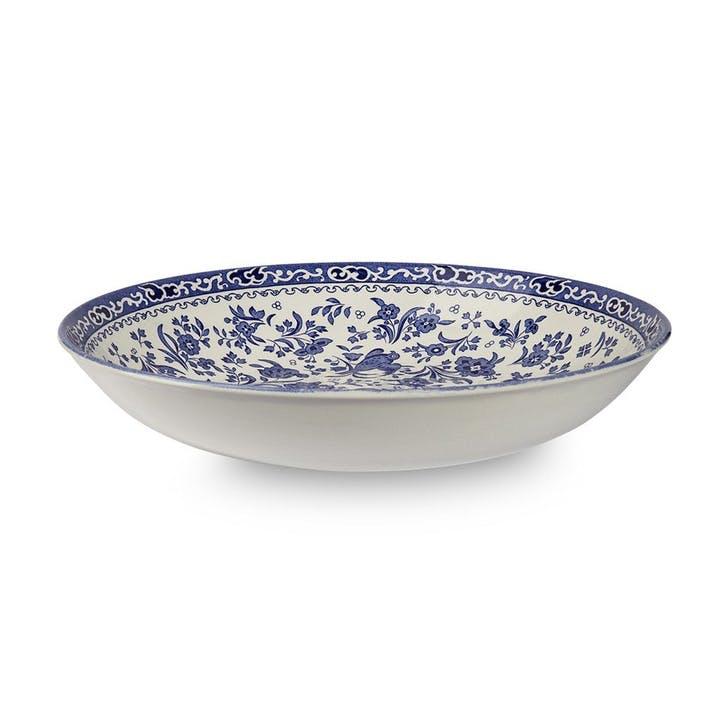 Regal Peacock Pasta Bowl, 23cm, Blue