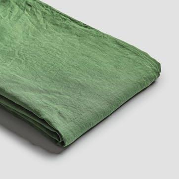 Super King Duvet Cover, Forest Green