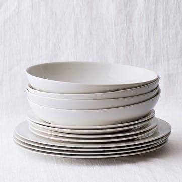 Symons Bone China Dinner Set, 12 Pieces