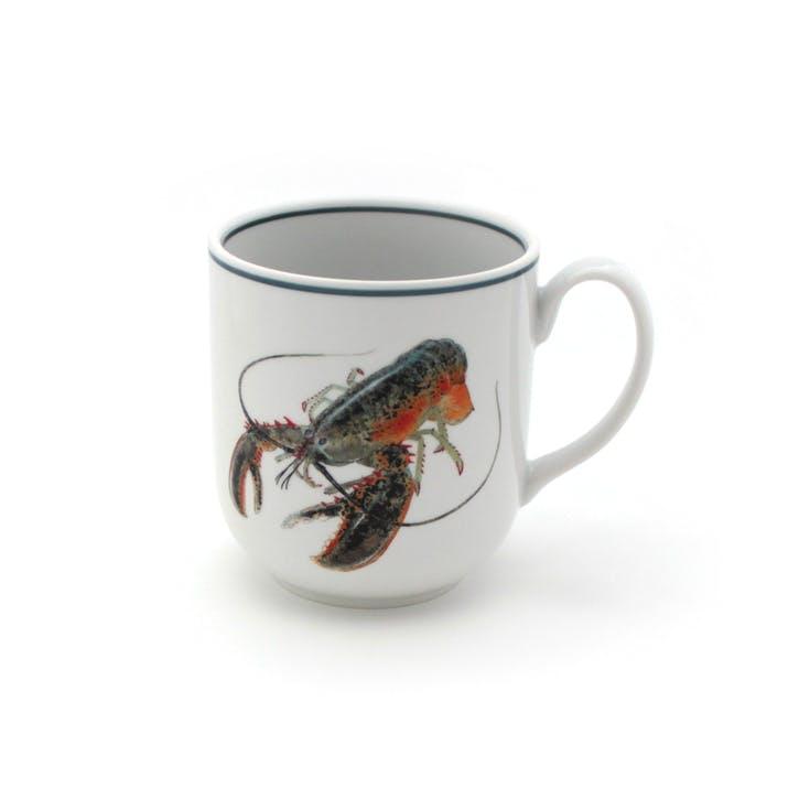 Seaflower American Lobster Mug, 10cm, Multi