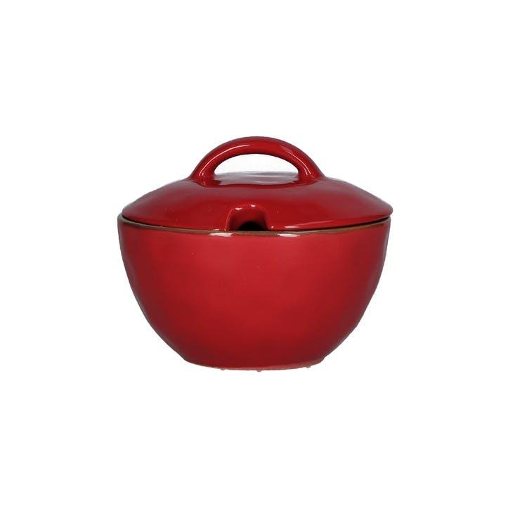 Concerto Sugar Bowl, Fire Red