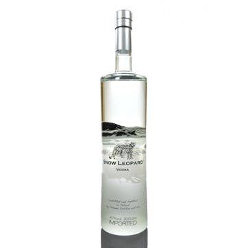 Snow Leopard Vodka 40%