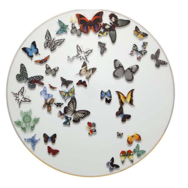Butterfly Parade Charger Plate