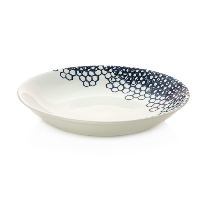 Ink Blue Pollen Pasta Bowl