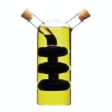 Italian 2 in 1 Oil & Vinegar Cruet Bottle