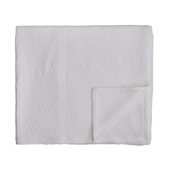 Ebba Throw, White