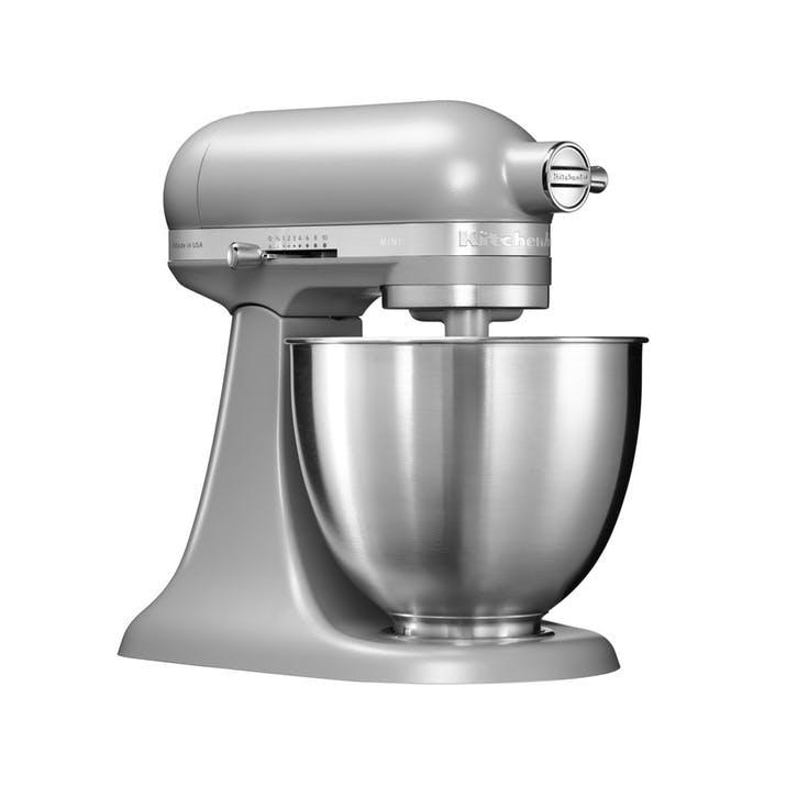 Mini Stand Mixer; Matte Grey