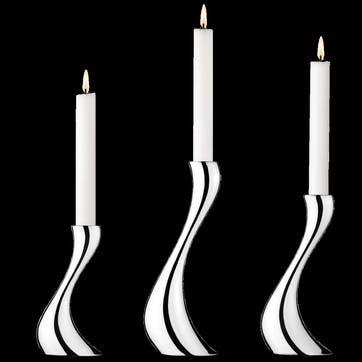 Cobra Candle Holders, Set of 3