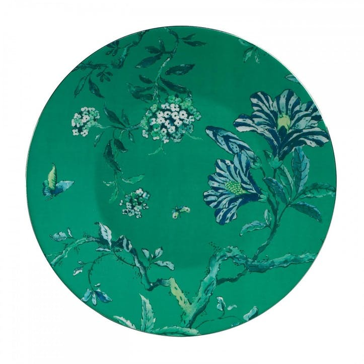 Chinoiserie Salad Plate, Green
