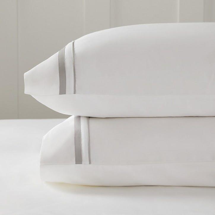 Cavendish Pillowcase, Standard, Mink