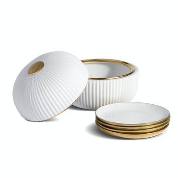 Ionic Boxed Set of 4 Plates