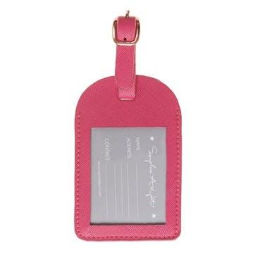 'Flamingos' Luggage Tag
