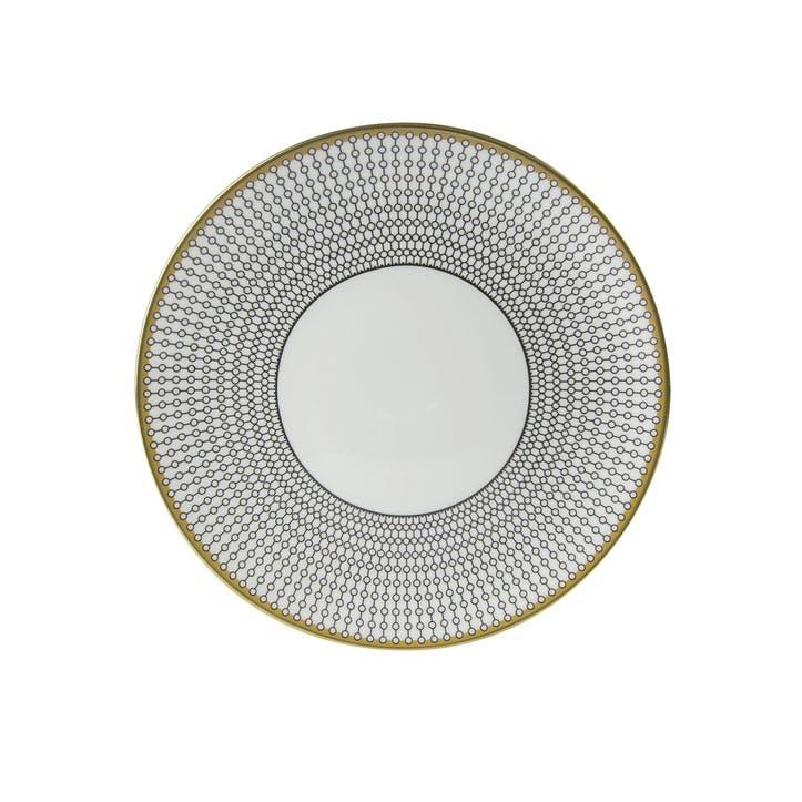 Oscillate Onyx Coupe Side Plate - 21cm ; Onyx