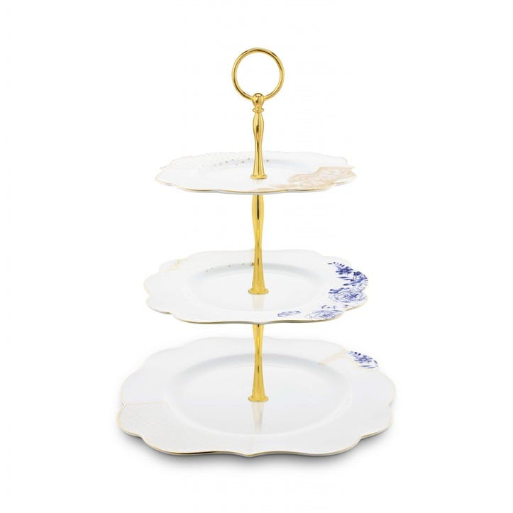 PiP Royal White 3 Tier Cake Stand