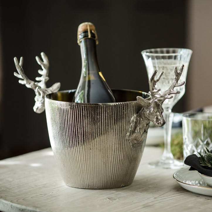 Stag Handle Ribbed Wine Cooler