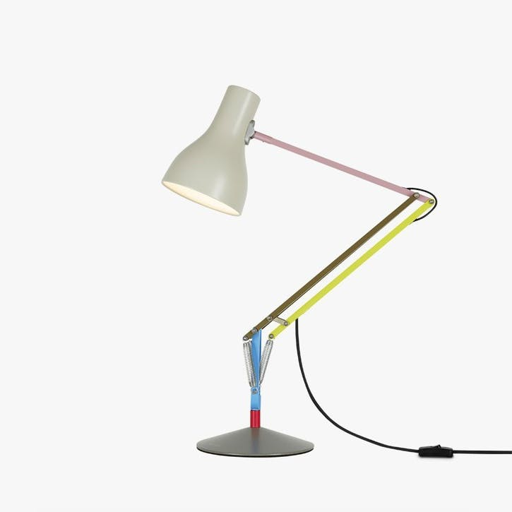 Desk Lamp Multicolours and Cream