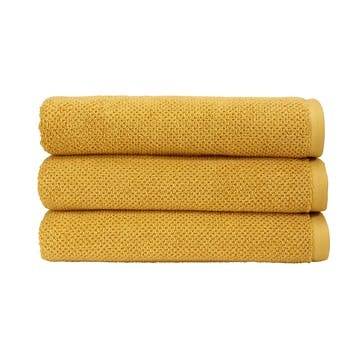 Brixton Hand Towel, Saffron