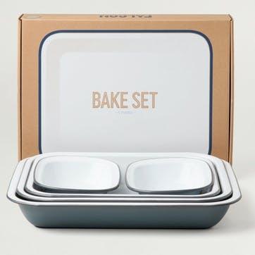 Bake Set, Pigeon Grey