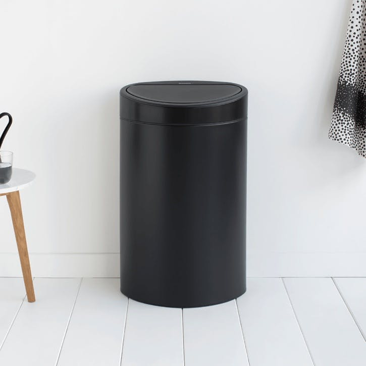 Touch Bin, 40L, Matt Black