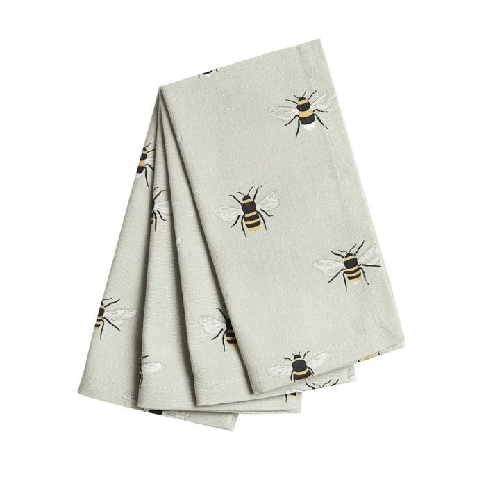'Bees' Napkins, Set of 4