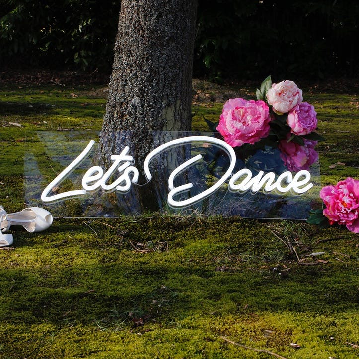'Let's Dance' LED Neon Light