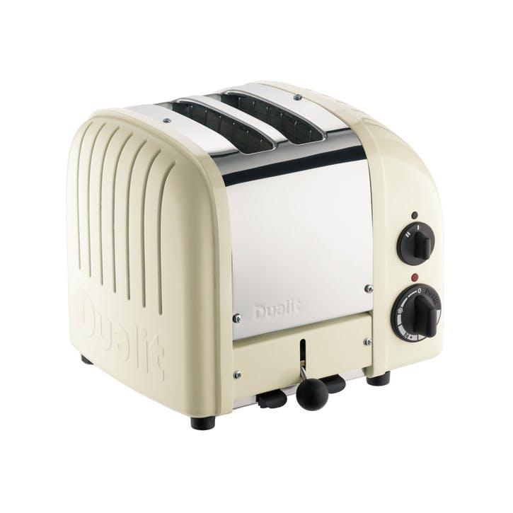 Classic Toaster, 2 Slot; Cream