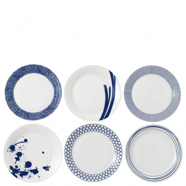Pacific Dinner Plate, Set of 6