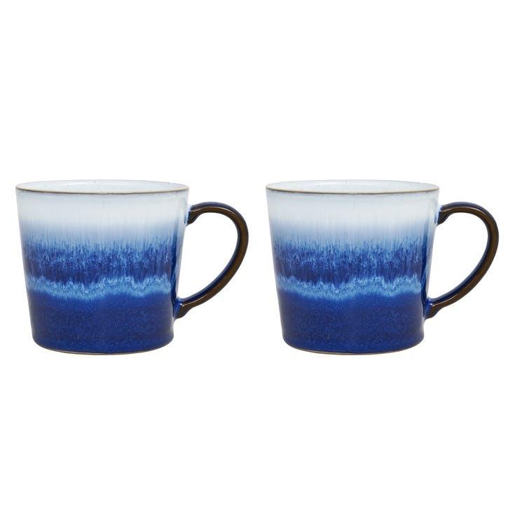 Blue Haze Mug, Set of 2