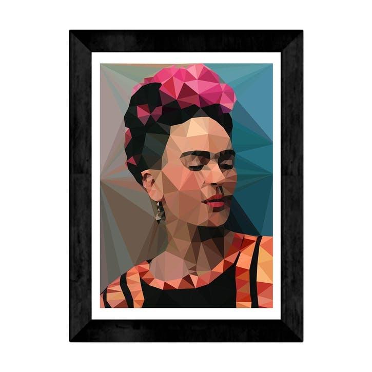 Studio Cockatoo, Frida II Black, Framed Art Print, H48 x W37 x D2cm, Black