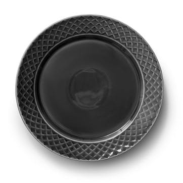 Coffee & More, Plate, 27cm, Grey