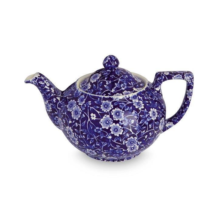 Calico Teapot, 400ml, Blue