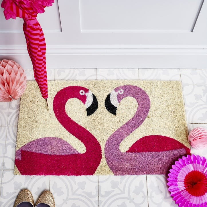 Doormat Flamingoes, 75 x 45cm