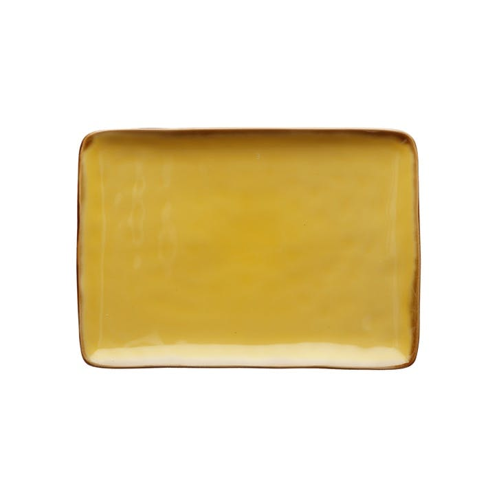 Concerto Serving Platter, Small, Yellow
