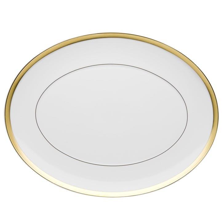 Domo Gold Large Oval Platter