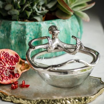 Octopus Glass Bowl - Small