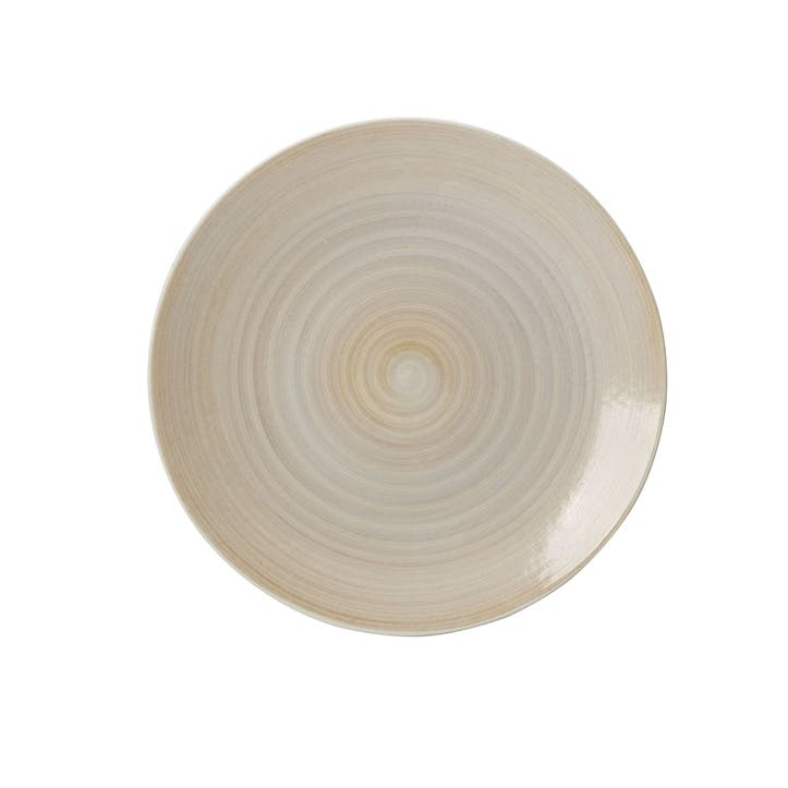 Studio Glaze Coupe Plate - 21cm; Classic Vanilla
