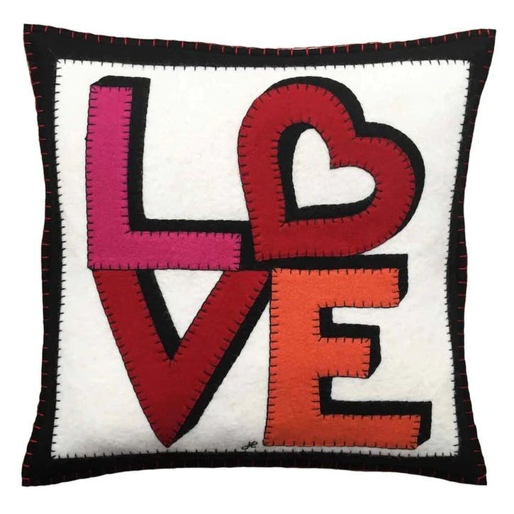 Love and Heart Cushion