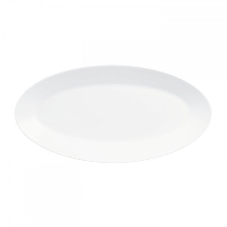 White Oval Dish, Small